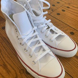 Converse White Hightops New in the Box